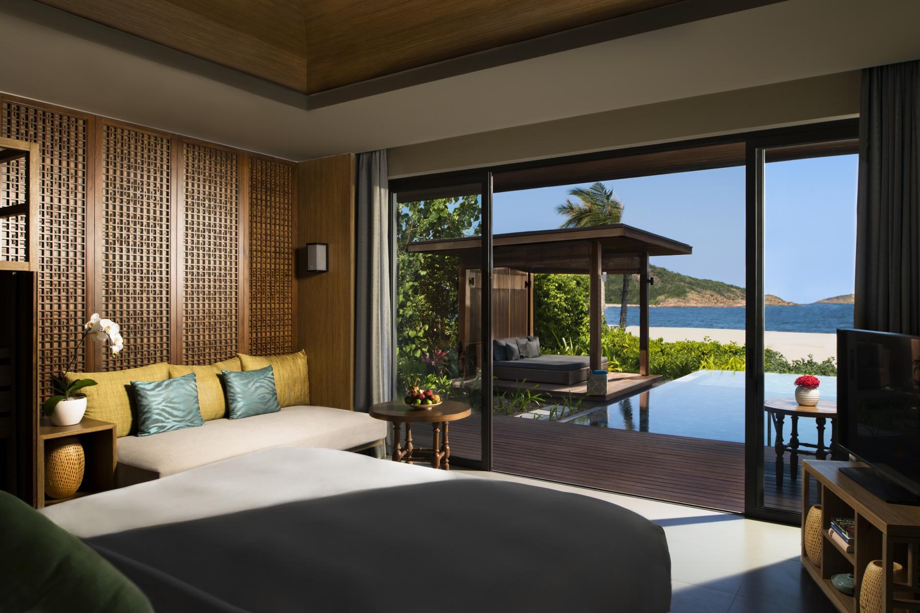 One Bedroom Beach Pool Villa in den Anantara Villas Quy Nhon in Vietnam