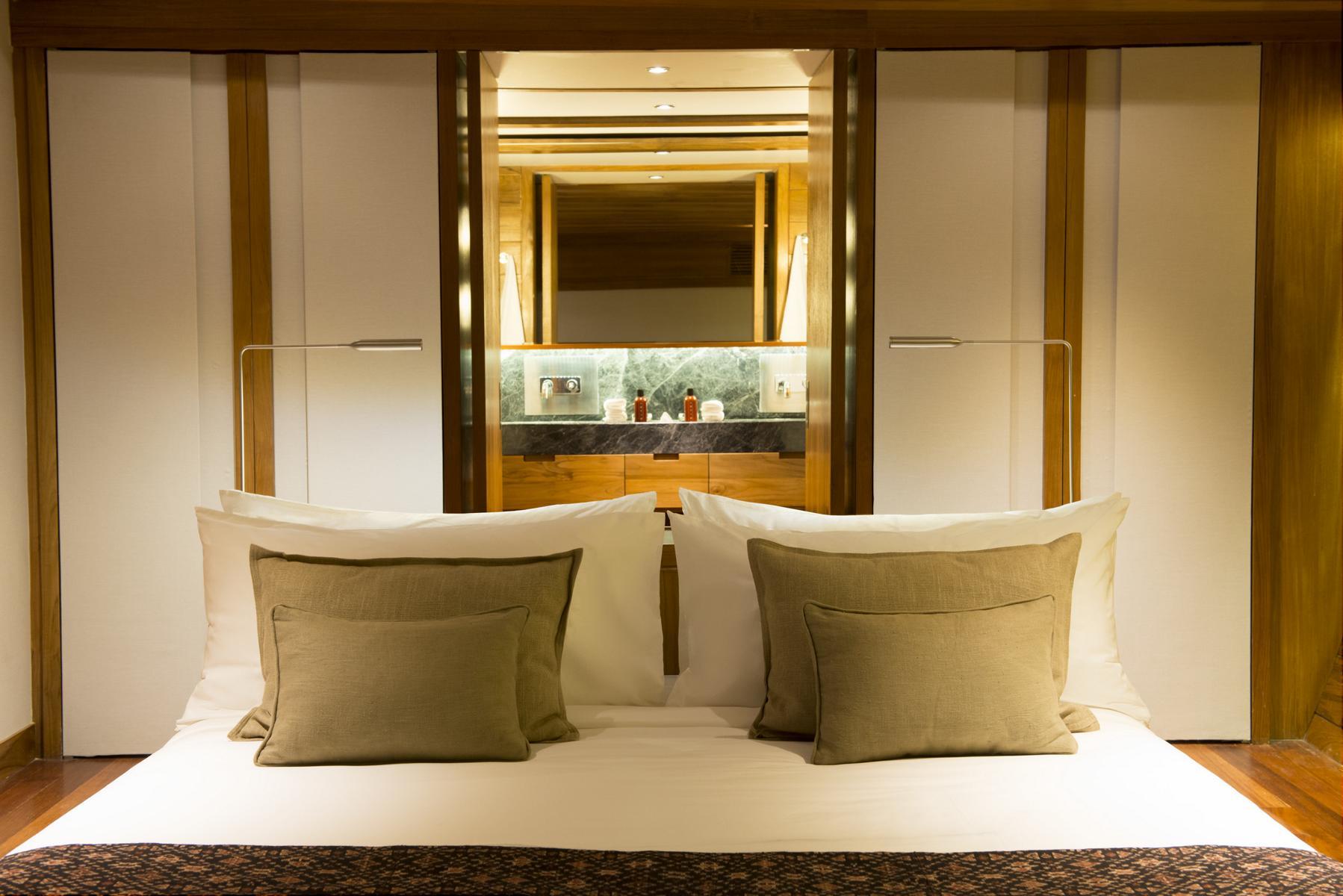 Eine Suite auf der Amandira von Aman Cruises