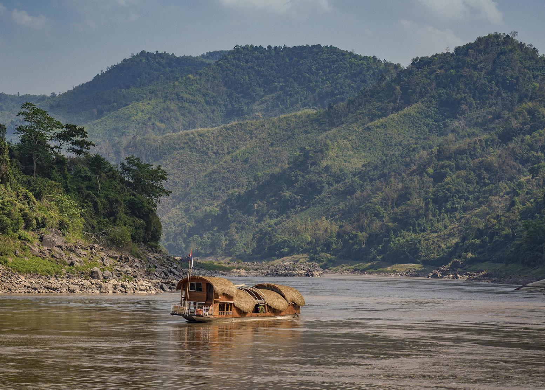 Die Anantara GYPSY auf dem Mekong