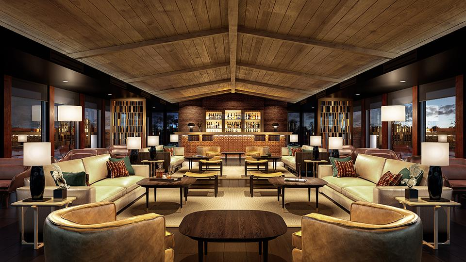 Die Lounge an Bord der Aqua Nera