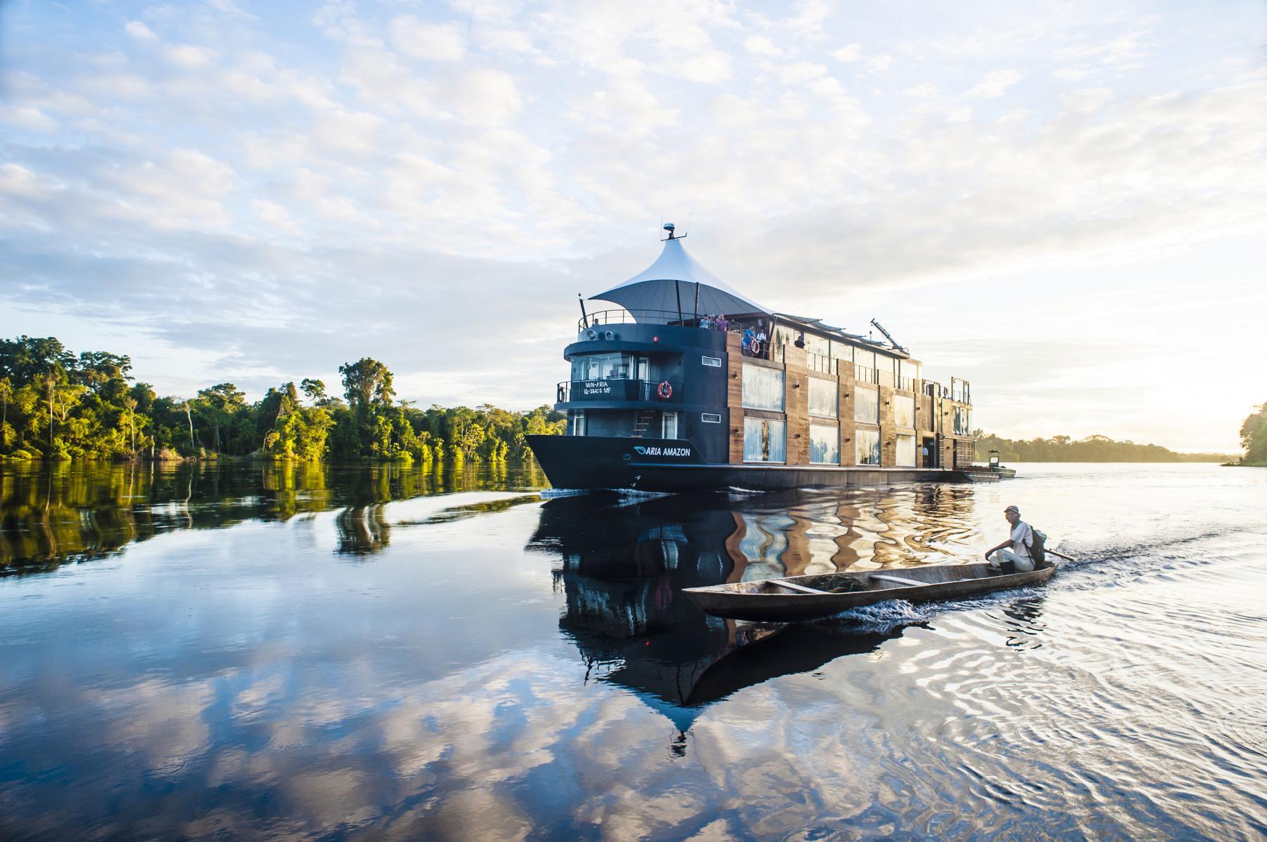 Die Aria Amazon auf dem Amazonas