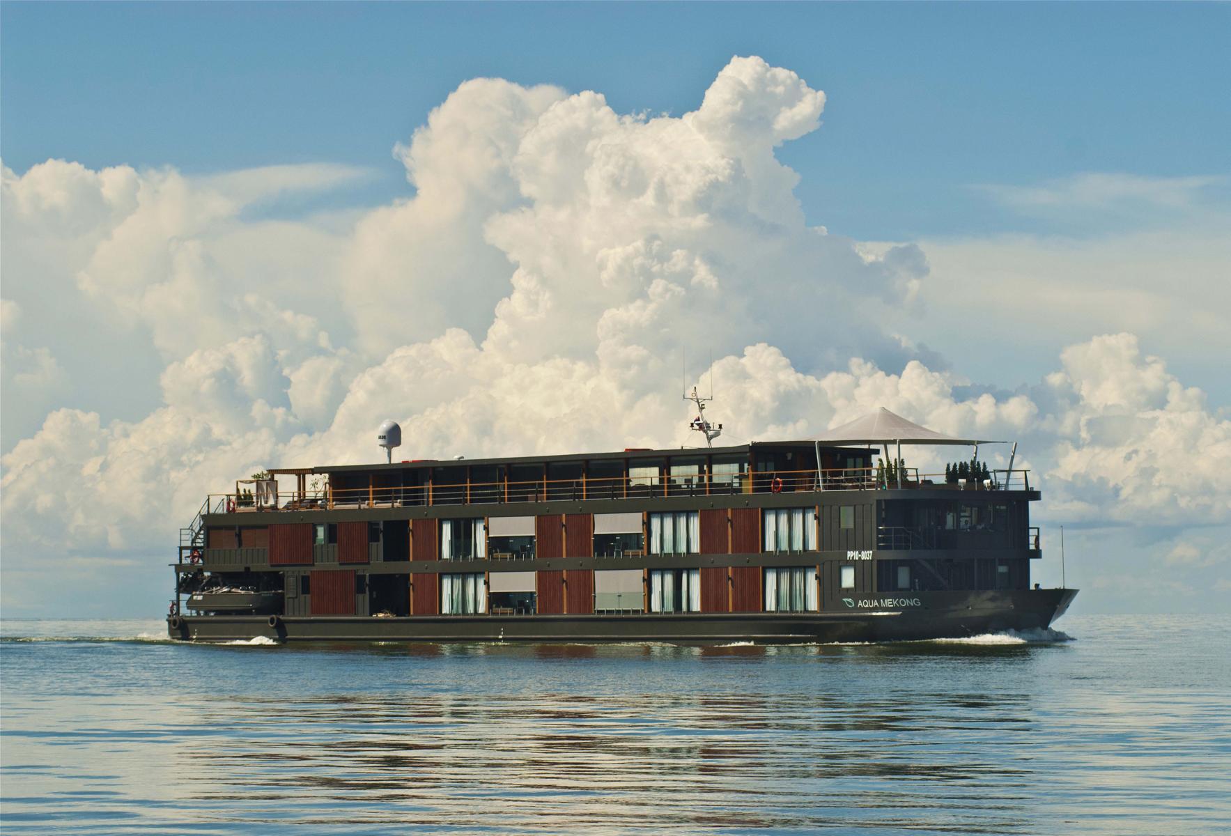 Die Aqua Mekong in Kambodscha