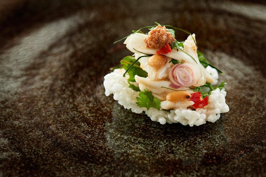 Gourmet-Essen an Bord der Aqua Mekong