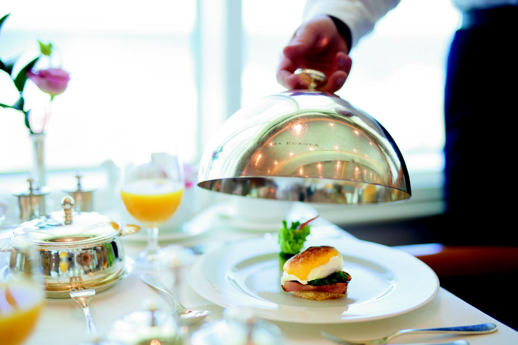 Fine Dining auf der MS Europa