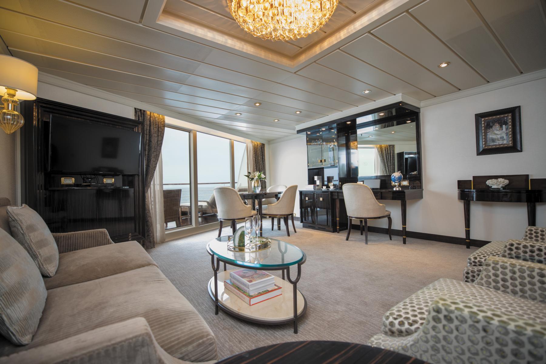 Suite auf der Regent Seven Seas Mariner