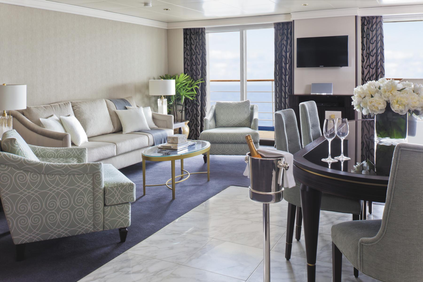 Suite auf der Regent Seven Seas Navigator