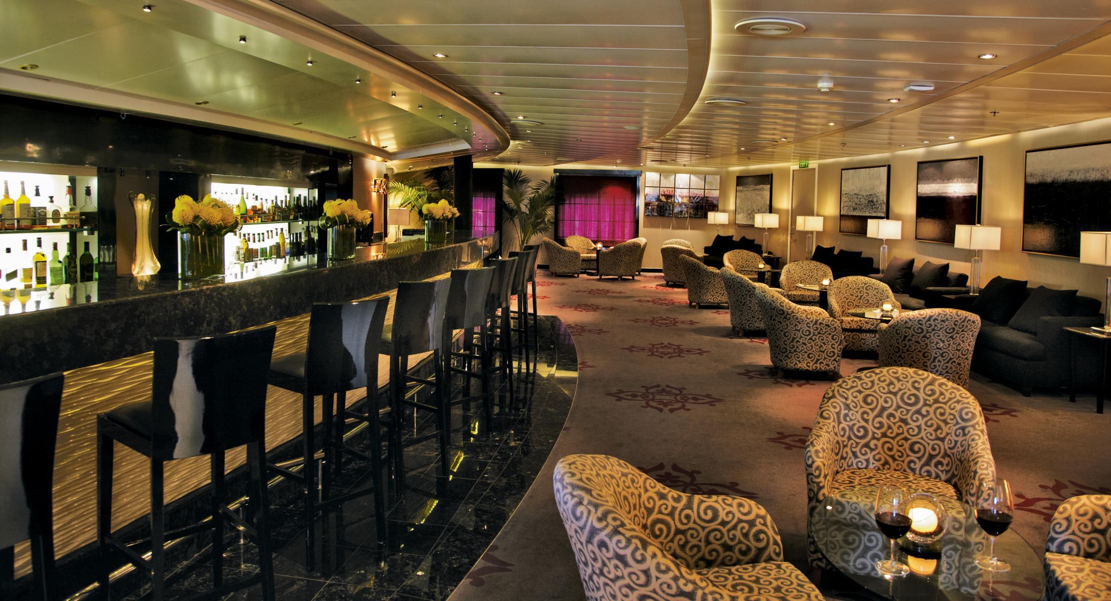 Bar auf der Regent Seven Seas Navigator