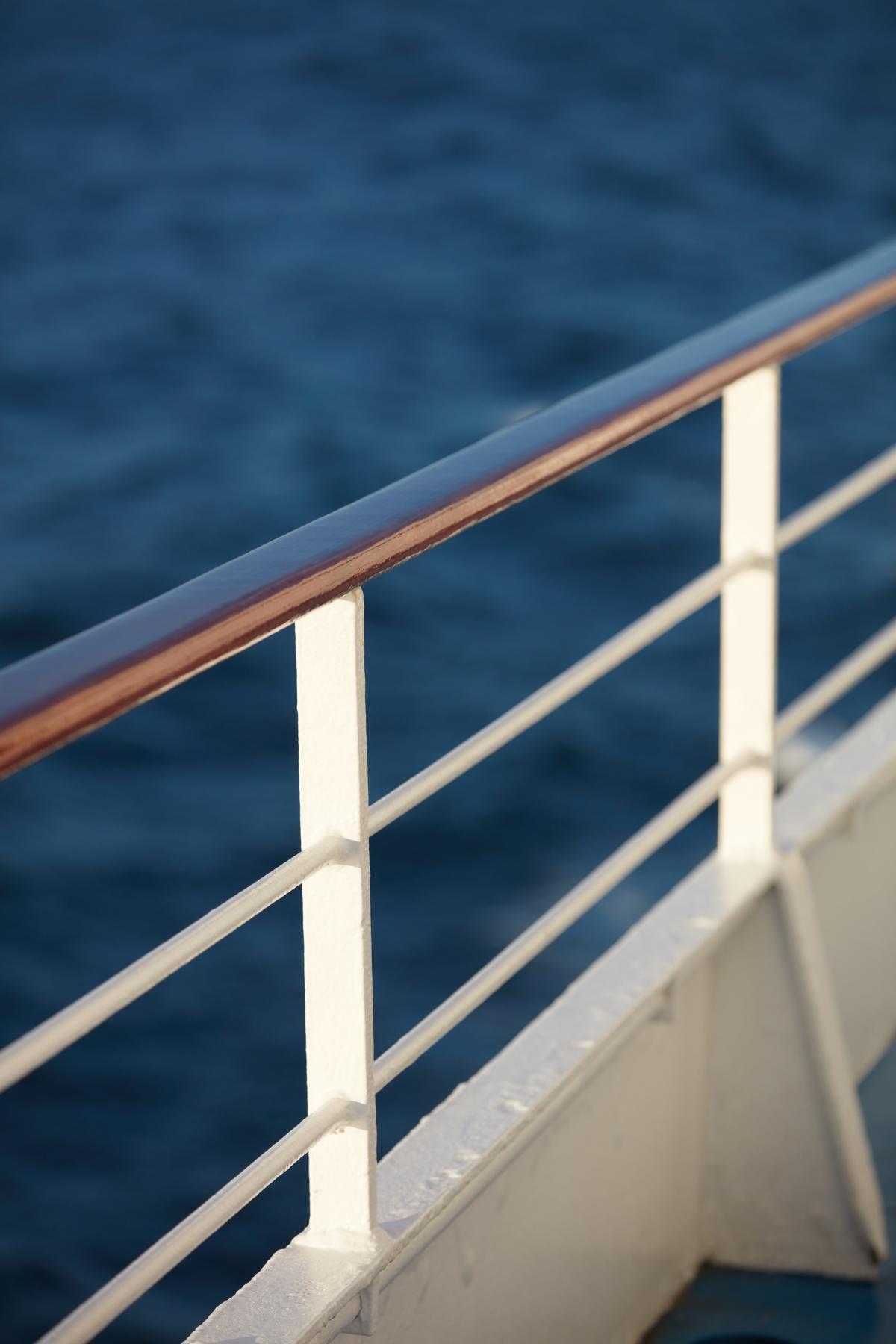 Reling der Regent Seven Seas Navigator