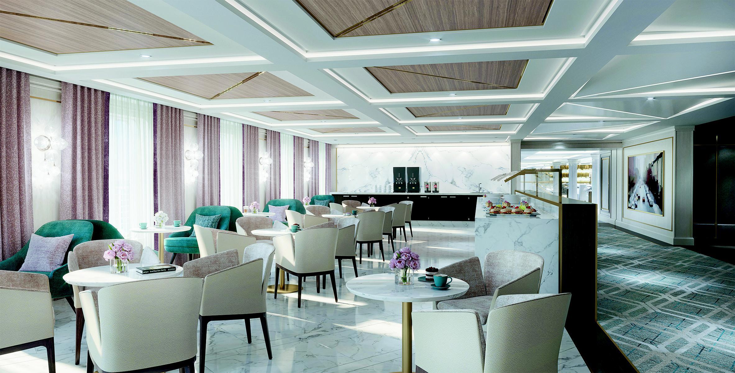 Restaurant auf der Regent Seven Seas Splendor
