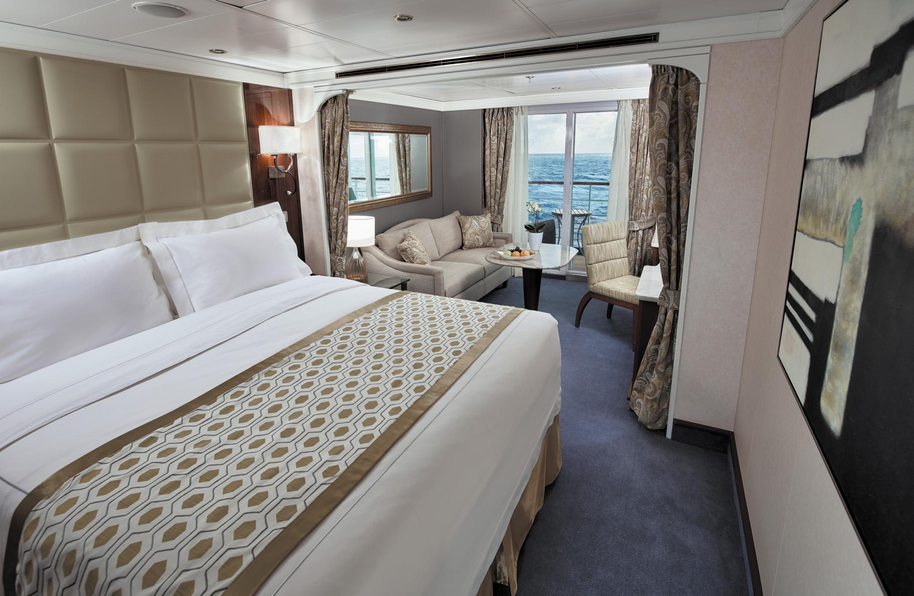 Suite auf der Regent Seven Seas Voyager