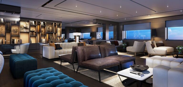 RitzCarltonYacht - The-Living-Room_Library-View