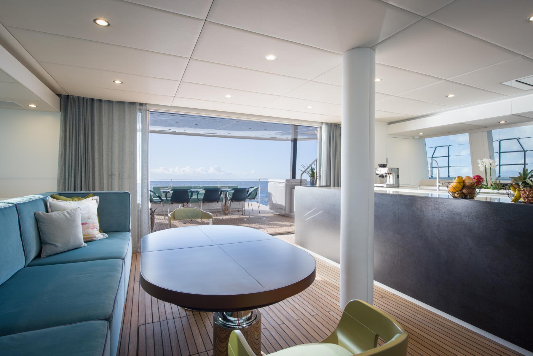 Lounge auf dem Samadhi Ocean Resort