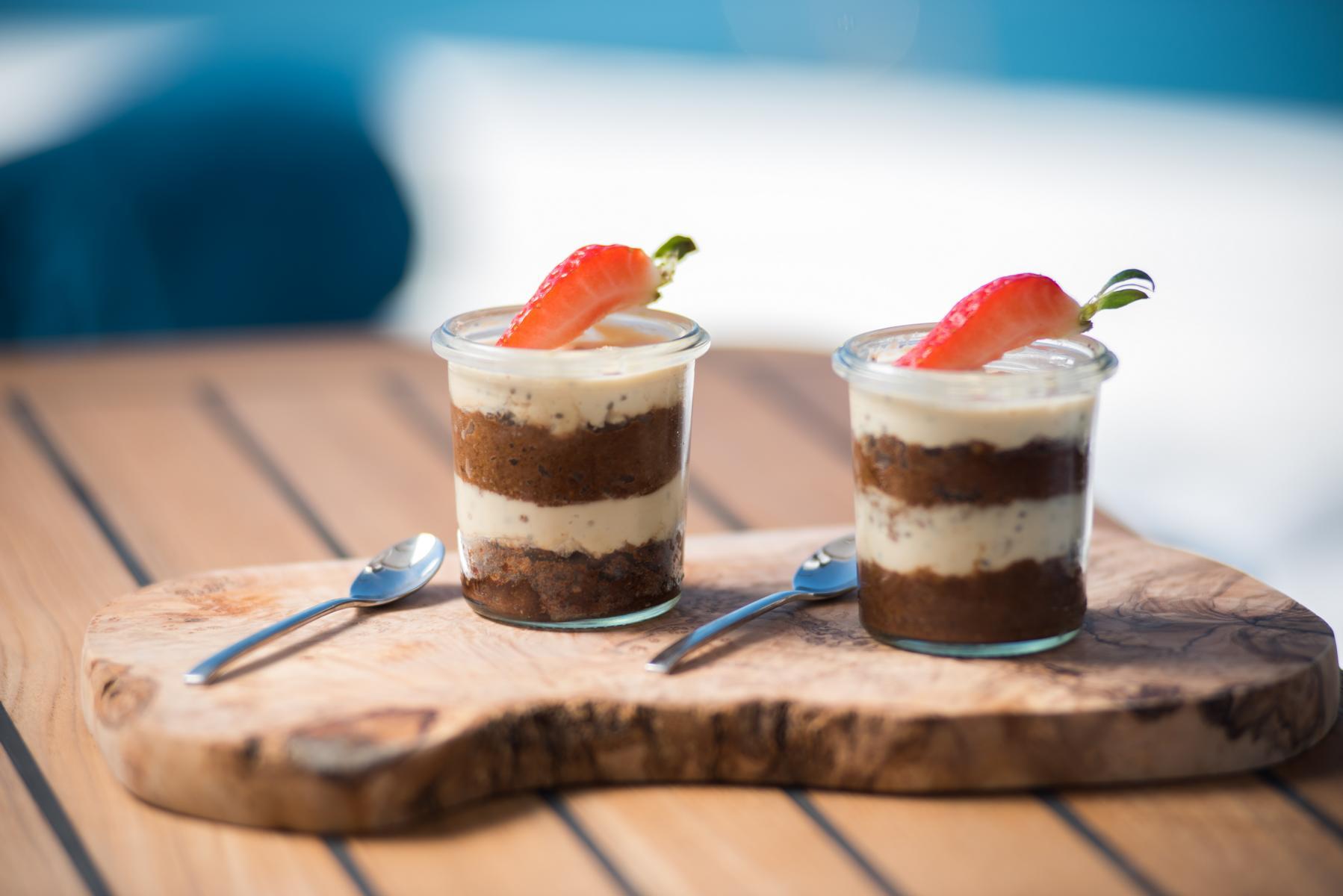 Dessert auf dem Samadhi Ocean Resort