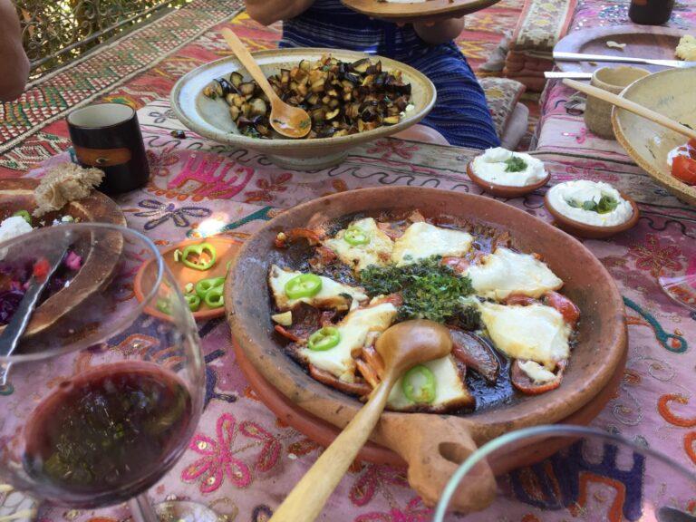 Israel - Organic-Goat-Cheese-Farm_Meal