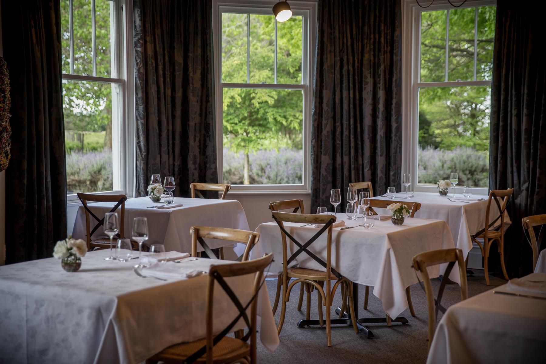 Restaurant in der Marlborough Lodge in Neuseeland